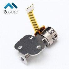 5 шт. 5 В 2 фазы 4 Провода Шаговые двигатели микро привести винт шаговый без шнуровки Простыни 40 Ом DIY