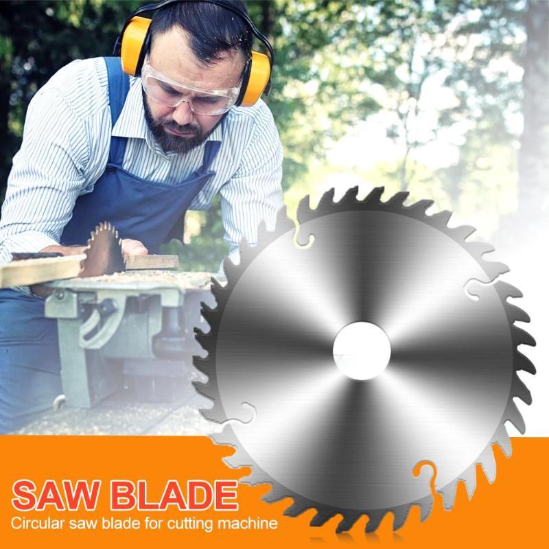Woodworking Round Saw Blade Aluminium Alloy Cutting Tool Wood Cutting Disc
