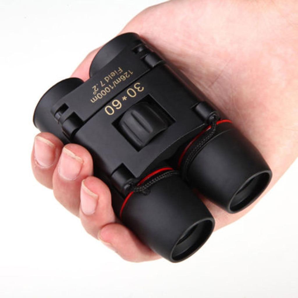 Portable Mini Binoculars 30 x 60 Zoom Outdoor Travel Folding Telescope With Bag Outdoor sports Professional Binoculars #15