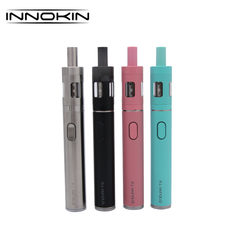 100% D'origine Innokin ENDURA T18 Starter Kit avec 1000 mah 2.5 ml Prisme T18 Réservoir VS Endura T18E 2.0 ml Starter Kit