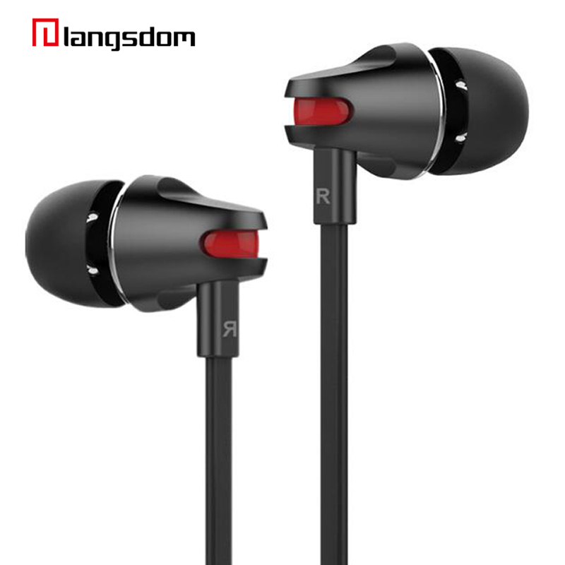 2017 New Fashion Original Earphone Heavy Bass Earbud Noise Canceling Stereo Sound for Mobile Phone iPhone PC Hi-fidelity Sound new bee lc b30 bluetooth 4 0 earbud noise canceling