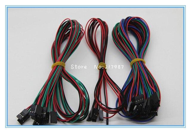 1lot 14PCS Complete Wiring Cables For 3D Printer Reprap RAMPS 1.4 Endstops Thermistors Motor littlebits XT0023-3D