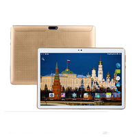 2018 Nieuwe 3g android tablet pc 10.1 inch 1280X800 IPS Scherm 64 GB ROM Wifi GPS ondersteuning Dual SIM 4 gb ram tabletten pc