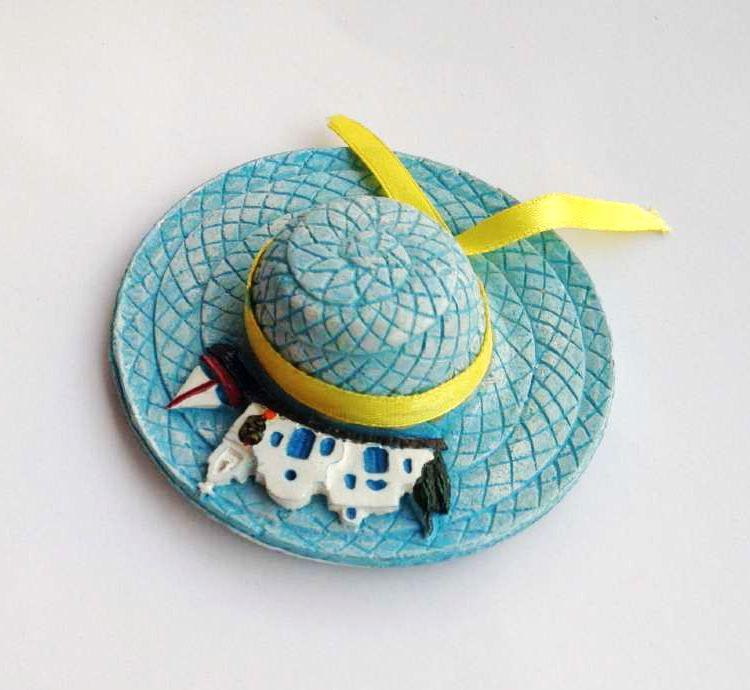 Rodos Landşaft Şapka 3D Soyuducu Magnets Yunanıstan Turizm - Ev dekoru - Fotoqrafiya 4