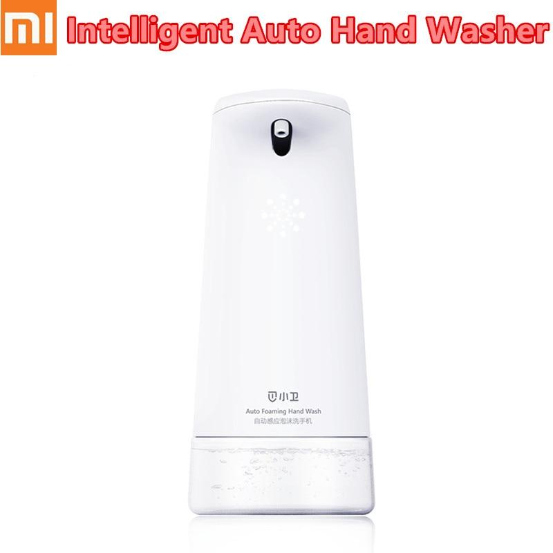 2019 mis à jour Xiaomi Mijia Xiaowei Intelligent Auto Induction moussant main lavage Machine de nettoyage distributeurs de savon lave-mains