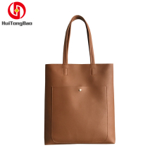 Women Fashion Shoulder Bags Female Solid Handbags Large Capacity Tote Bag Casual Pu Leather Shopping