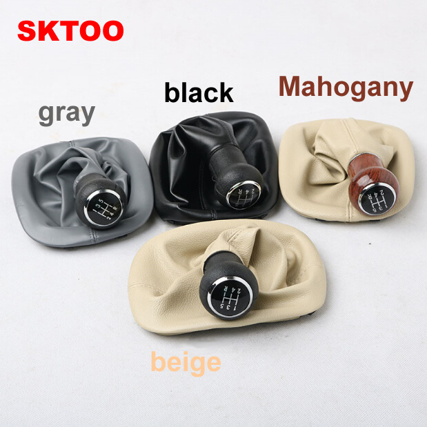 Image 2 - SKTOO for Volkswagen  Old Passat B5 shift BOOT shift lever cover manual gear head gear sets mahogany-in Gear Shift Knob from Automobiles & Motorcycles