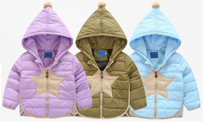 Çocuk aşağı ceket kış yeni çocuk giyim küçük büyük yedi renk şeker renk çocuk aşağı ceket aşağı ceket ceket