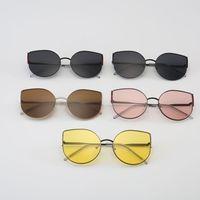 2019 moda retro gato óculos de sol das mulheres óculos de sol lente liga óculos de sol feminino quadro motorista acessórios do carro|Óculos de motorista| |  -