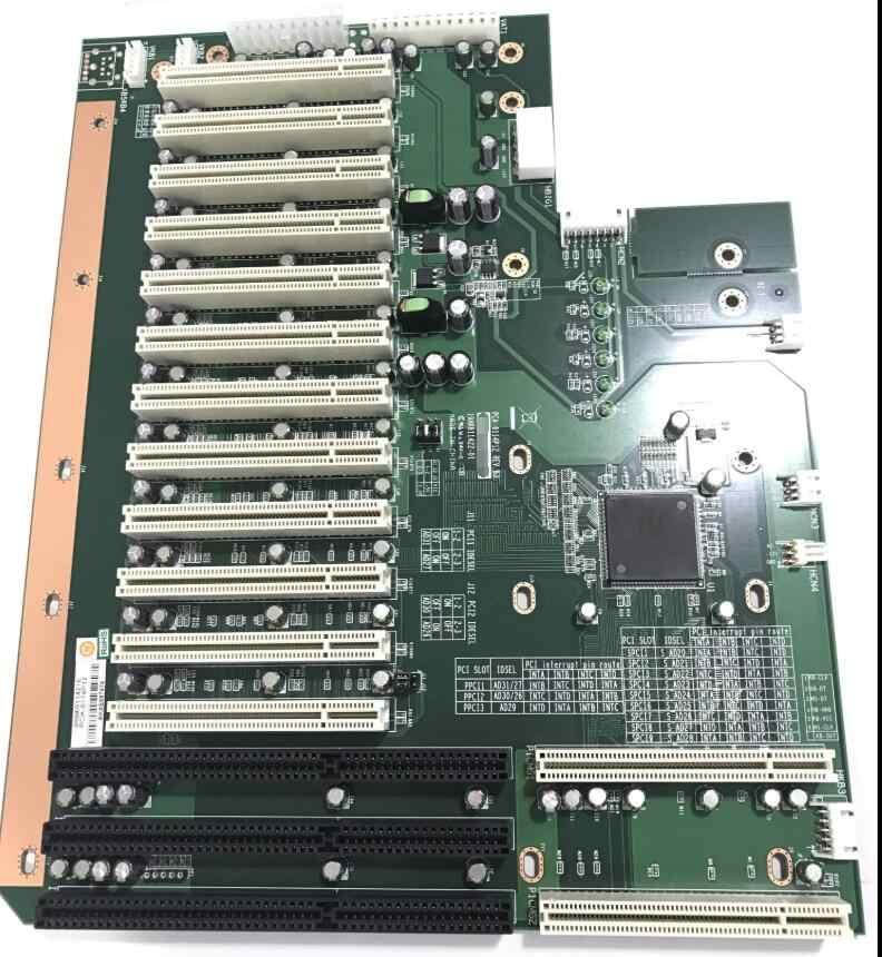 Sangat Bagus Tertanam IPC Industri Backplane Papan PCA-6114P12 Rev. B3 Picmg 1.0 Bus Ekspansi 12 * Slot PCI