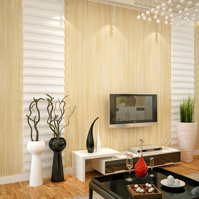 Beibehang Modern Simple Plain Color Linen Wave Point Striped 3D Wallpaper  Living Room Restaurant Desktop Background 3D Wallpaper Part 88