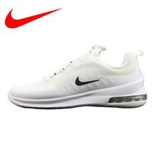 on sale 0cfc1 f374a Nike Air Max de Axe Hommes et Femmes Modèles de Chaussures de Course,  absorption Des chocs Léger Respirant Non-slip, Blanc AA214.