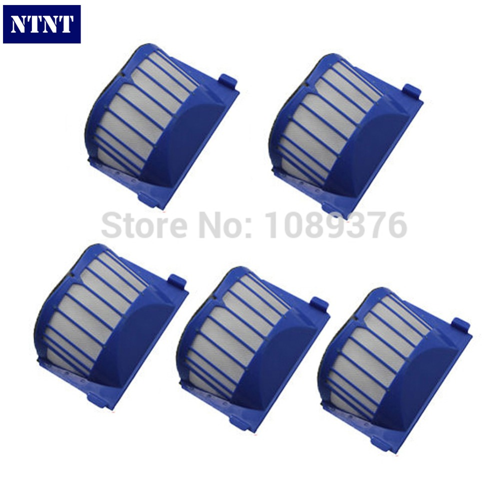 NTNT Free Post Blue 5 x AeroVac Filter for iRobot Roomba 600 Series 620 630 650 660 670 680 free post 15 years of dedicated welding helmet ac3000 series air filter combinations economic high quality in stock