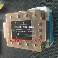 FOR FOTEK TSR 40DA Three Phase Solid State Relay 40A DC Control AC