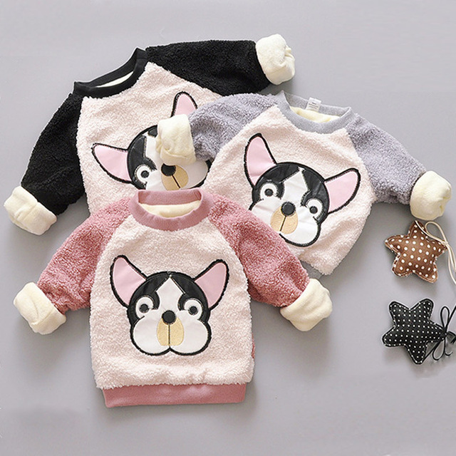 3c75c04cd Unisex Baby Long Sleeve Round Neck Sweater Pullover Cute Pet Dog ...