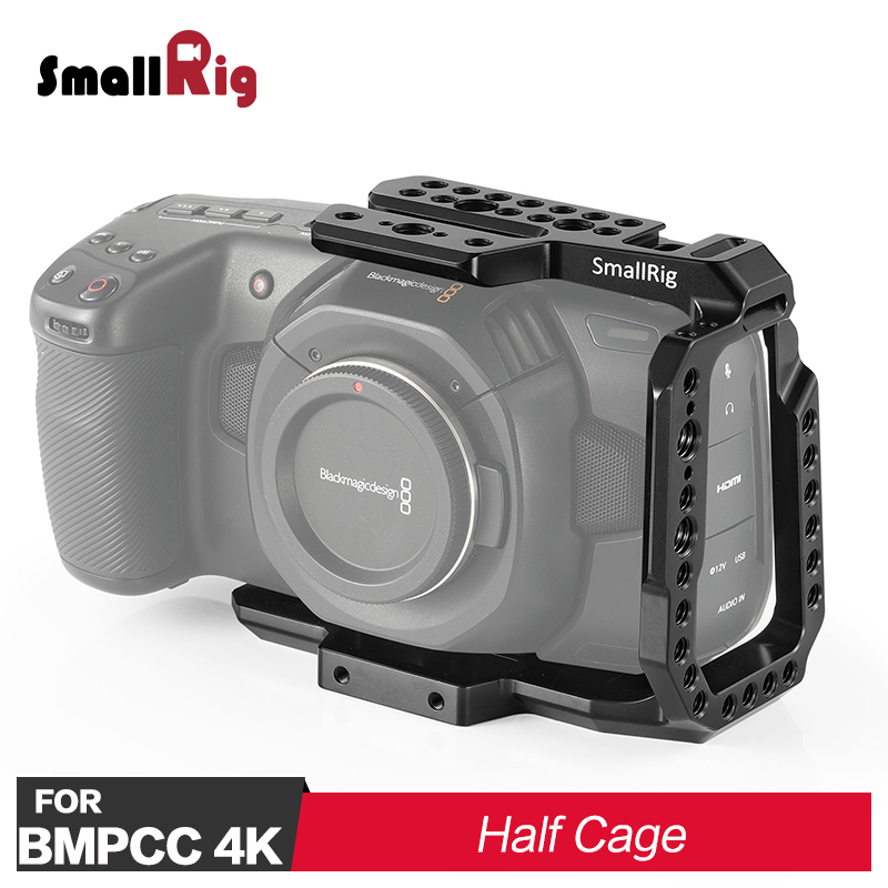 SmallRig BMPCC 4K Half Cage For Blackmagic Design Pocket Cinema Camera 4K 2254