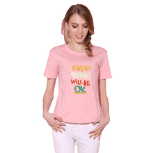 Здесь можно купить  Harajuku 2017 T Shirt Women Tops Everything Will Be Ok Letter Print Cotton Tee Shirt Femme T-shirt Casual tshirt O-neck