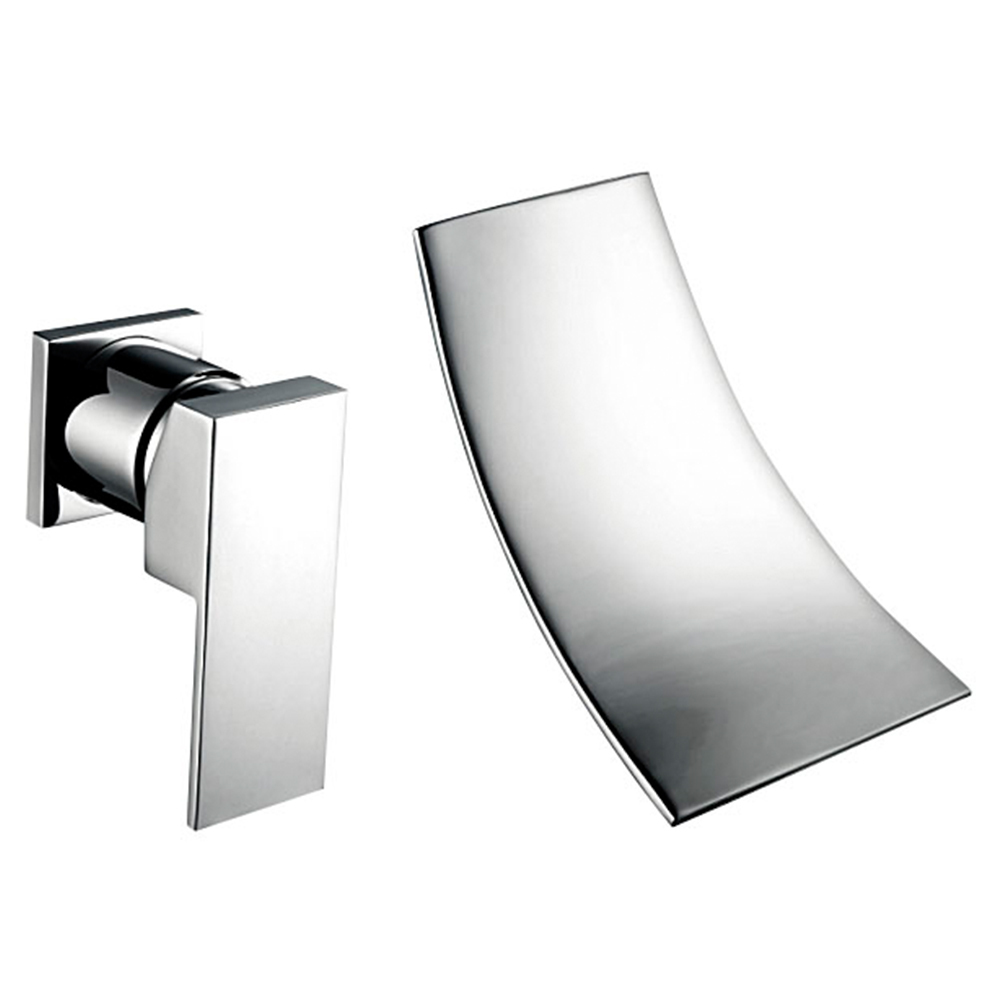 Modern Bath Accessories Chrome Brass Sprinkle Waterfall Widespread Wall  Mount Contemporary Bathroom Sink Faucet Washing Tap In Basin Faucets From  Home ...