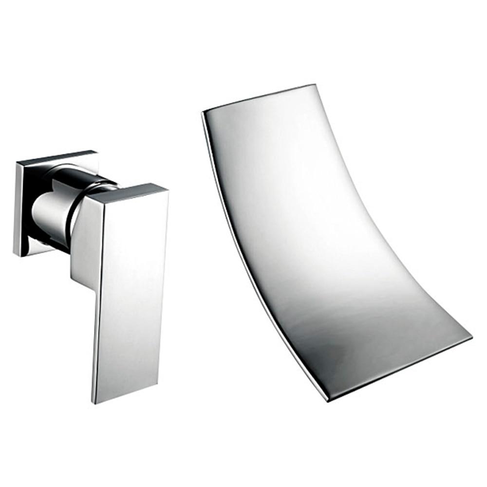 Modern Bath Accessories Chrome Brass Sprinkle Waterfall Widespread ...