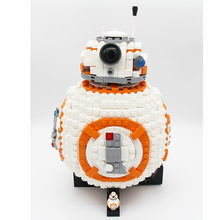 Фотография 1238Pcs Star Wars BB8 Robot Set Genuine figs legoings Series 75187 Set Building Blocks Bricks Toys As Christmas Gifts