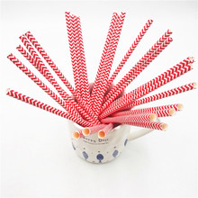 25PCS/SET Wedding Paper Drinking Straws Birthday Party Baby Shower Ariel Mermaid Straw Supplies Decoration