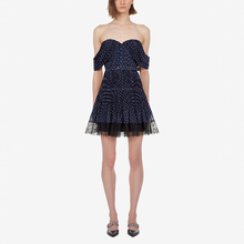 мини-платье женский платье бретелек