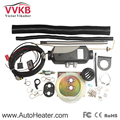 Free Shipping Diesel Air Heaters 12V 5000W Similar Webasto Heater Parking heater; All the Electronic Components is Car level