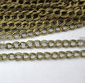 Chains 16ft 5 Meters Of Antique Bronze Two Ply Double Wire Twisted Cable Link Chain 4x5mm Wholesale DIY Accessory Jewelry Making