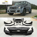 PU W463 W461 G-WAGON G500 G55 G550 FULL WALD BODY KIT Bumper guard FOR BENZ 2007-2013