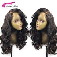 Карина 4*4 шелк базы Full Lace натуральные волосы парики с ребенка волосы бразильских тела Wav Волосы remy парики предварительно накладка из волос о