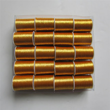 wholesale 20 roll GOLD beautiful gold thread embroidery thread sewing line
