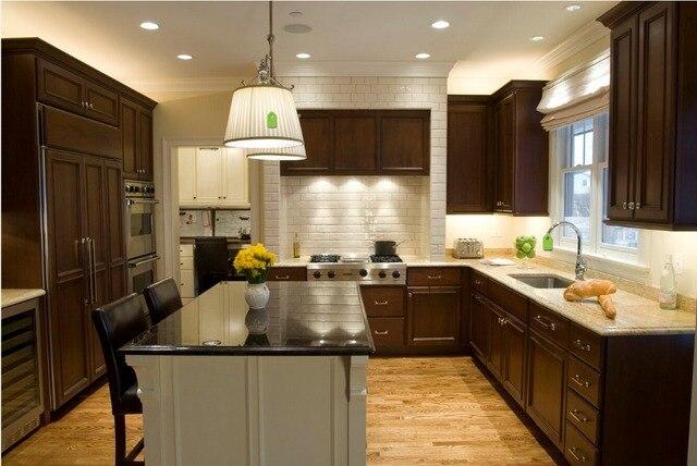 2017 ventas calientes gabinetes de cocina de madera baratos precios ...