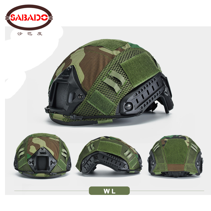 Image 5 - Wargame Gear CS Head Circumference 52 60cm molle LOOP decorate Tactical Helmet Cover Cloth Airsoft Paintball FAST Helmet Cover-in Paintball Accessories from Sports & Entertainment