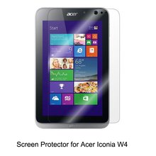 Clear LCD PET Film Anti-Scratch / Touch Responsive Screen Protector Cover for Acer Iconia W4 Tablet Accessories