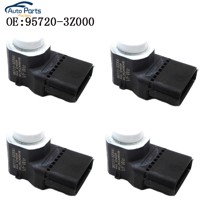 4 PCS White Color PDC Parking Sensor For Hyundai i40 95720-3Z000 957203Z000 4MT006KCB 4MT006HCD 95720-2P500 957202P5004 PCS White Color PDC Parking Sensor For Hyundai i40 95720-3Z000 957203Z000 4MT006KCB 4MT006HCD 95720-2P500 957202P500
