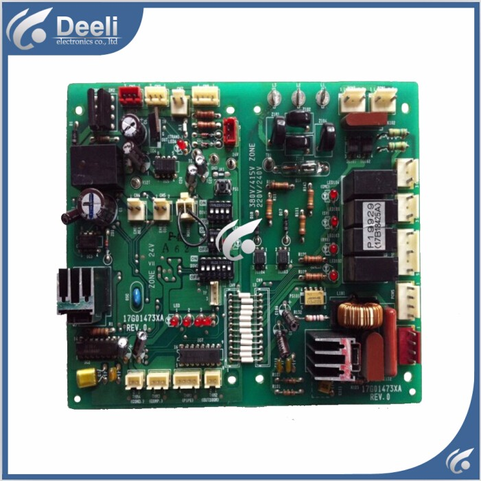 95% new good working for air conditioning board 17G01473XA REV.0 computer board P19929 17B18425A / B control board