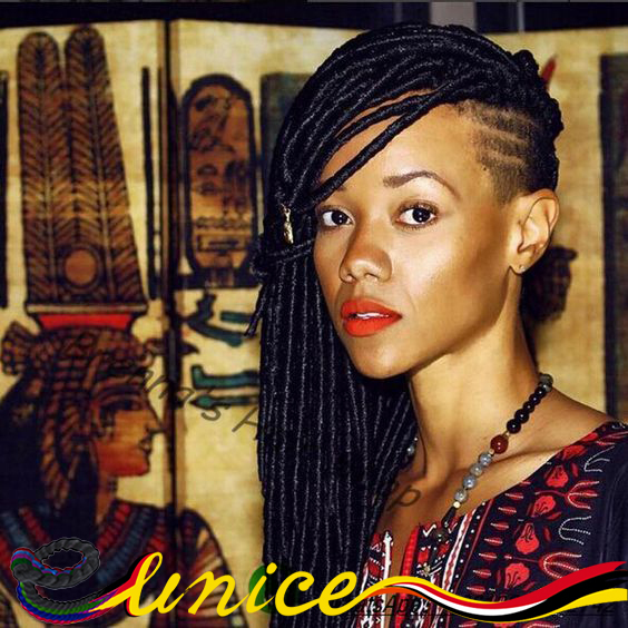 Aliexpress buy girls with dreads crochet braids loc styles girls with dreads crochet braids loc styles hair dredlocks extensions faux locs braids hairstyles on short pmusecretfo Images