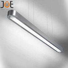 Modern simply ruler pendant T5 tube officer lamp diningroom lights meeting room lighting Luxury Hotel rooms light  9066-1×120 cm