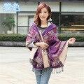 Alta qualidade chiffon cachecol mulheres cachecóis étnico foulard tippet xaile das senhoras longo lenço no pescoço femme femme tippet