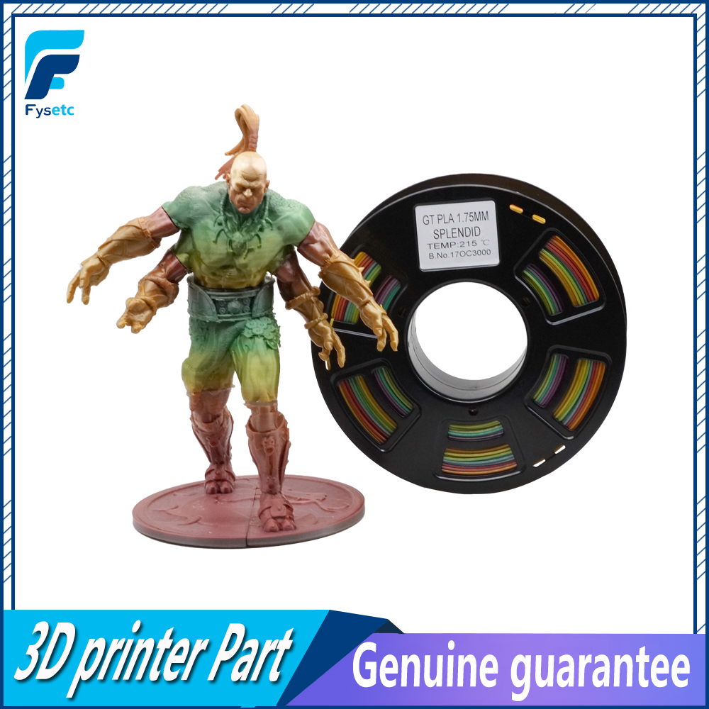 Printing Materials 1.75 pla/abs filament 1.75mm 1kg/2.2lbs PLA/ABS Filament Top Quality Splendid Color For 3D Printer/3D Pen new 3d printer printing filament abs 1 75mm 1kg for print reprap color gold yellow