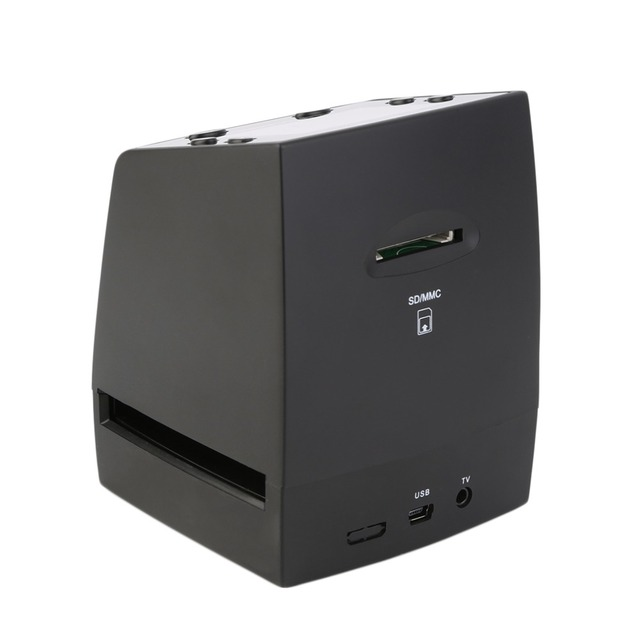 Hot High-Resolution Scanner/Digital Converts Negatives Slides Photo Scan Film