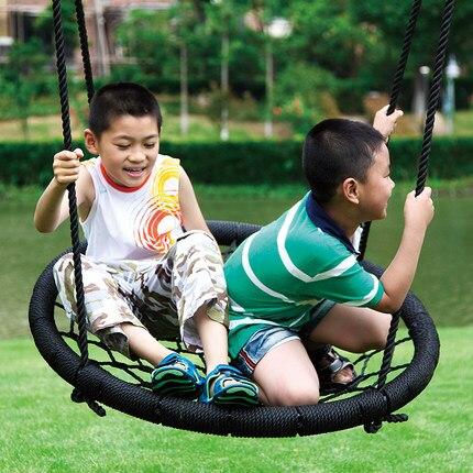 Oiseaux/corbeaux nid araignée balançoire bébé intérieur maison chaise extérieure bébé balançoires pour enfants balançoire chaise jouets pour enfants Juguetes