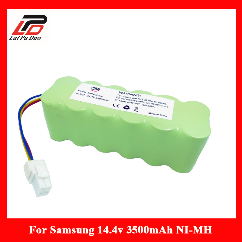14.4V 3500mAh NI-MH Vacuum Cleaner Rechargeable battery for Samsung NaviBot SR8840 SR8845 SR8855 SR8895 VCR8845 VCR889514.4V 3500mAh NI-MH Vacuum Cleaner Rechargeable battery for Samsung NaviBot SR8840 SR8845 SR8855 SR8895 VCR8845 VCR8895