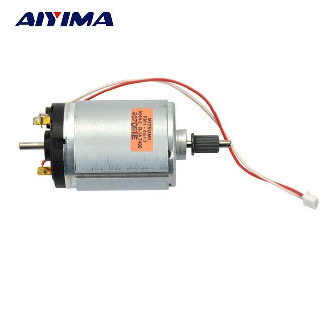 AIYIMA 1pcs 545 DC DC12V-38V Generator High-quality Motor Wind Turbines 2400-6800RPM Free Shipping
