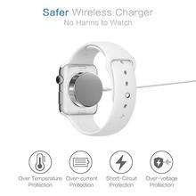 1M Universal Wireless Charger For Apple Watch 1 2 3 4 USB Magnetic Charging Cable For iwatch 1/2/3/4 (38/42 mm) A07