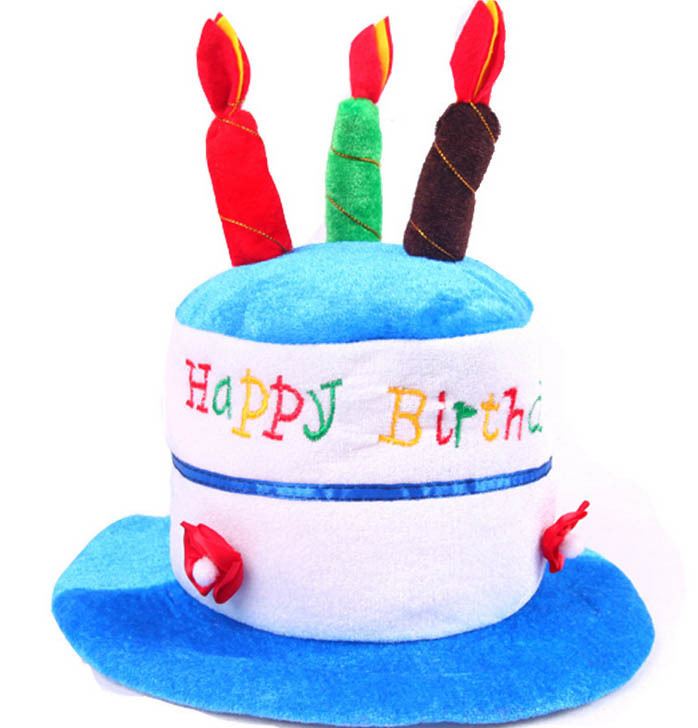 Children Happy Birthday Cake Candle Hat Kids Party Hats Caps Halloween In From Home Garden On Aliexpress