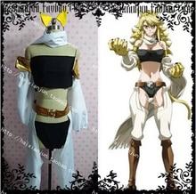 Akame ga KILL Night Raid Leone Uniform Strapless Trousers font b Anime b font Halloween font