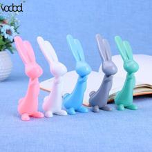 Cute Cartoon Rabbit Ball Point Pens Creative Kawaii Bunny 0.7mm Writing Pen Student Stationery School Office Supplies Kids стоимость
