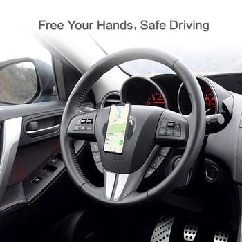 Universal Mobile Phone Holder Strong Adsorption Wall Desk Sticker Paste Phone Car Holder Stand For Phone Tablet Mount 5
