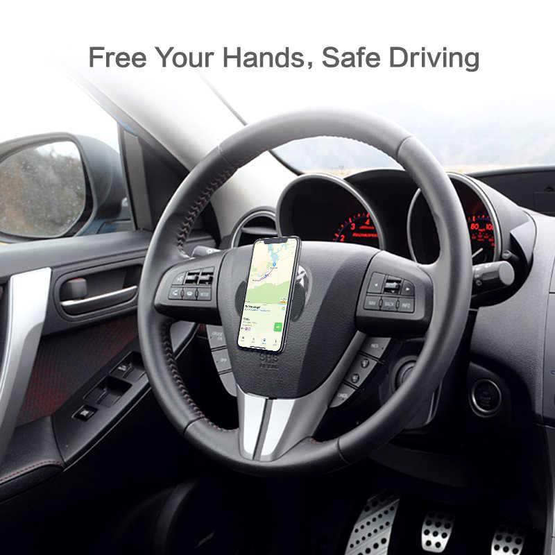 FLOVEME אוניברסלי נייד טלפון מחזיק חזק ספיחה קיר שולחן מדבקה להדביק טלפון מחזיק רכב Stand עבור טלפון Tablet הר